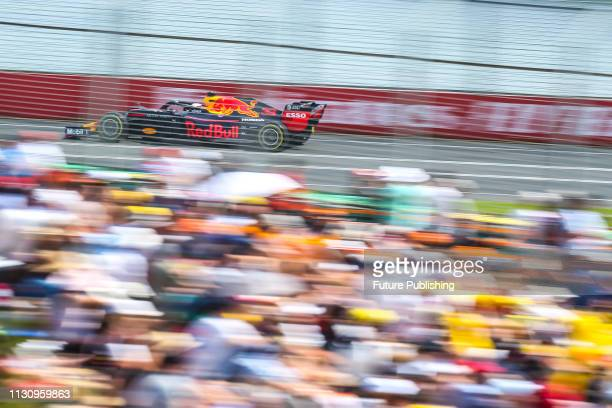Max VERSTAPPEN of Aston Martin Red Bull Racing during 3rd practice session on day 3 of the 2019 Formula 1 Australian Grand Prix