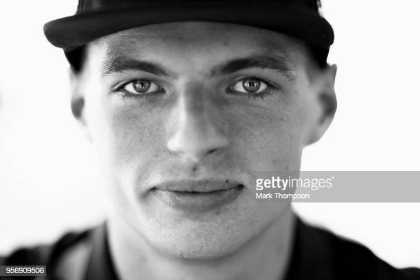 Max Verstappen of Netherlands and Red Bull Racing poses for a photo during previews ahead of the Spanish Formula One Grand Prix at Circuit de...