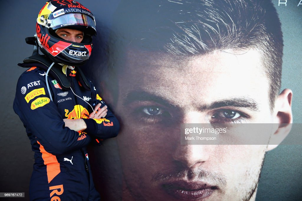 Max Verstappen of Netherlands and Red Bull Racing poses for a photo before practice for the Canadian Formula One Grand Prix at Circuit Gilles Villeneuve on June 8, 2018 in Montreal, Canada.