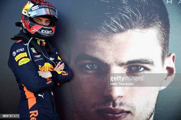 Max Verstappen of Netherlands and Red Bull Racing poses for a photo before practice for the Canadian Formula One Grand Prix at Circuit Gilles...