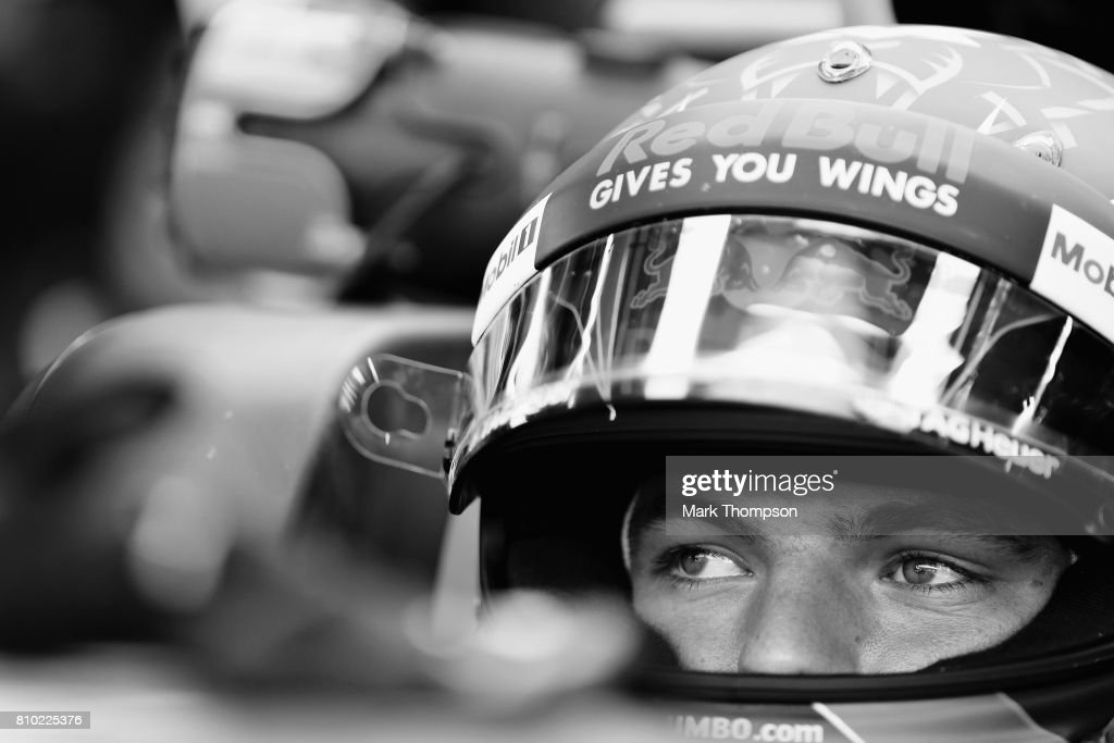 Max Verstappen of Netherlands and Red Bull Racing prepares to drive during practice for the Formula One Grand Prix of Austria at Red Bull Ring on July 7, 2017 in Spielberg, Austria.