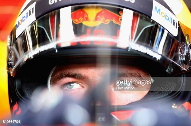 Max Verstappen of Netherlands and Red Bull Racing prepares to drive during final practice for the Formula One Grand Prix of Austria at Red Bull Ring...