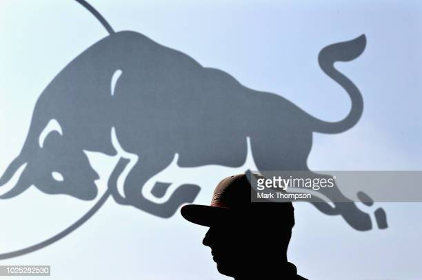 Max Verstappen of Netherlands and Red Bull Racing walks in the Paddock during previews ahead of the Formula One Grand Prix of Italy at Autodromo di...
