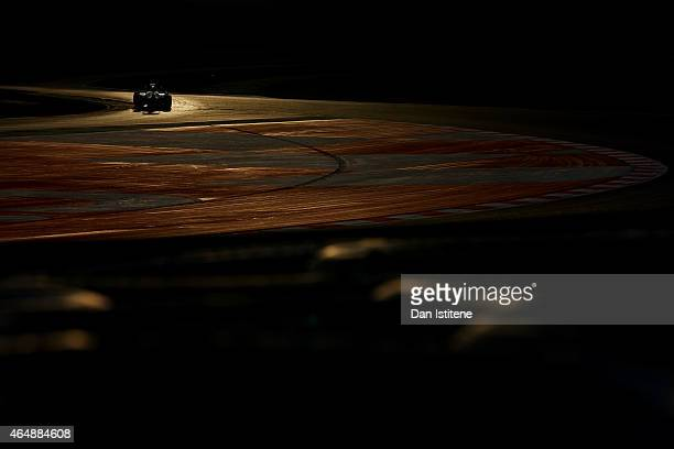 Max Verstappen of Netherlands and Scuderia Toro Rosso drives during day four of the final Formula One Winter Testing at Circuit de Catalunya on March...
