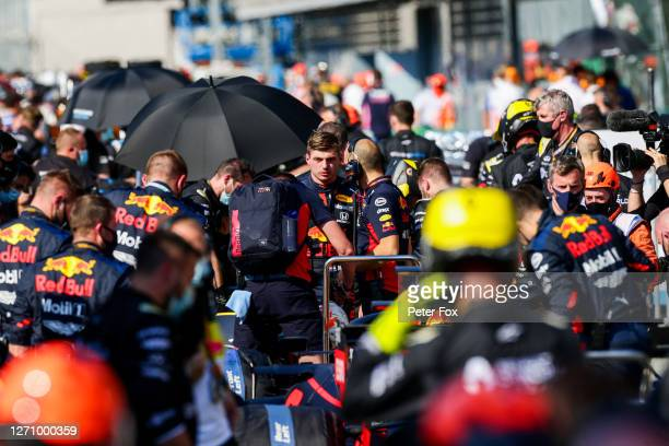 Max Verstappen of Red Bull Racing and The Netherlands during the F1 Grand Prix of Italy at Autodromo di Monza on September 06, 2020 in Monza, Italy.