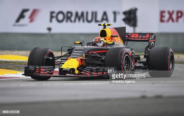 Max Verstappen of Red Bull Racing on track during the Formula One Grand Prix of China at Shanghai International Circuit on April 9 2017 in Shanghai...