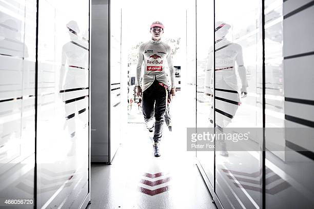 Max Verstappen of The Netherlands and Scuderia Toro Rosso during practice for the Australian Formula One Grand Prix at Albert Park on March 13 2015...