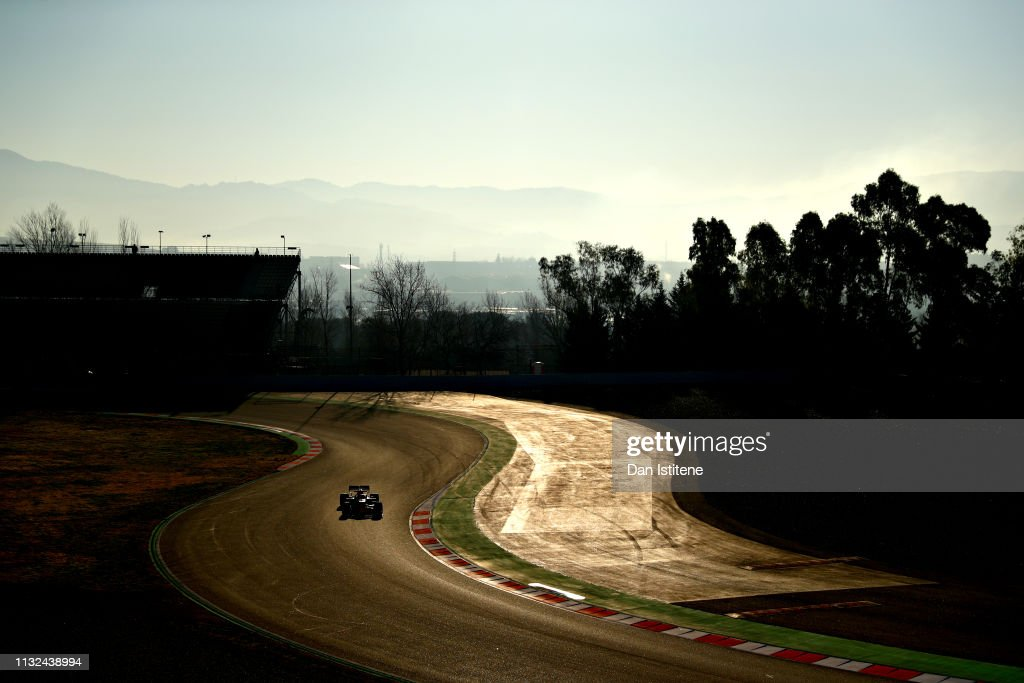 ESP: F1 Winter Testing in Barcelona - Day Two