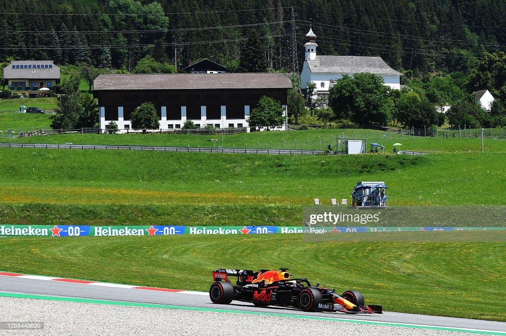 F1 Grand Prix of Styria - Practice : News Photo
