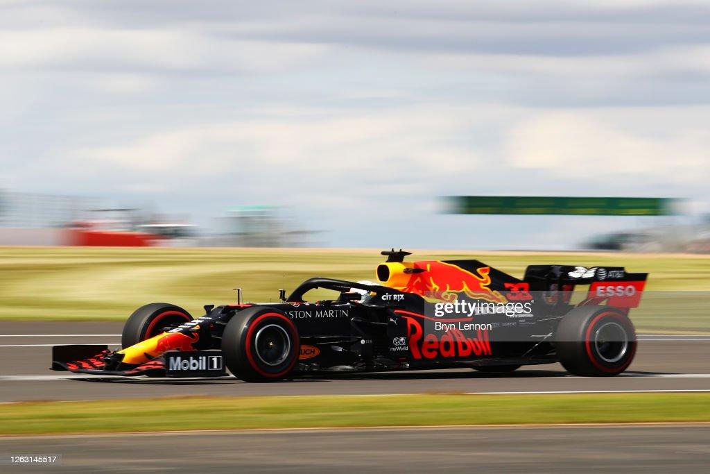 F1 Grand Prix of Great Britain - Qualifying : News Photo