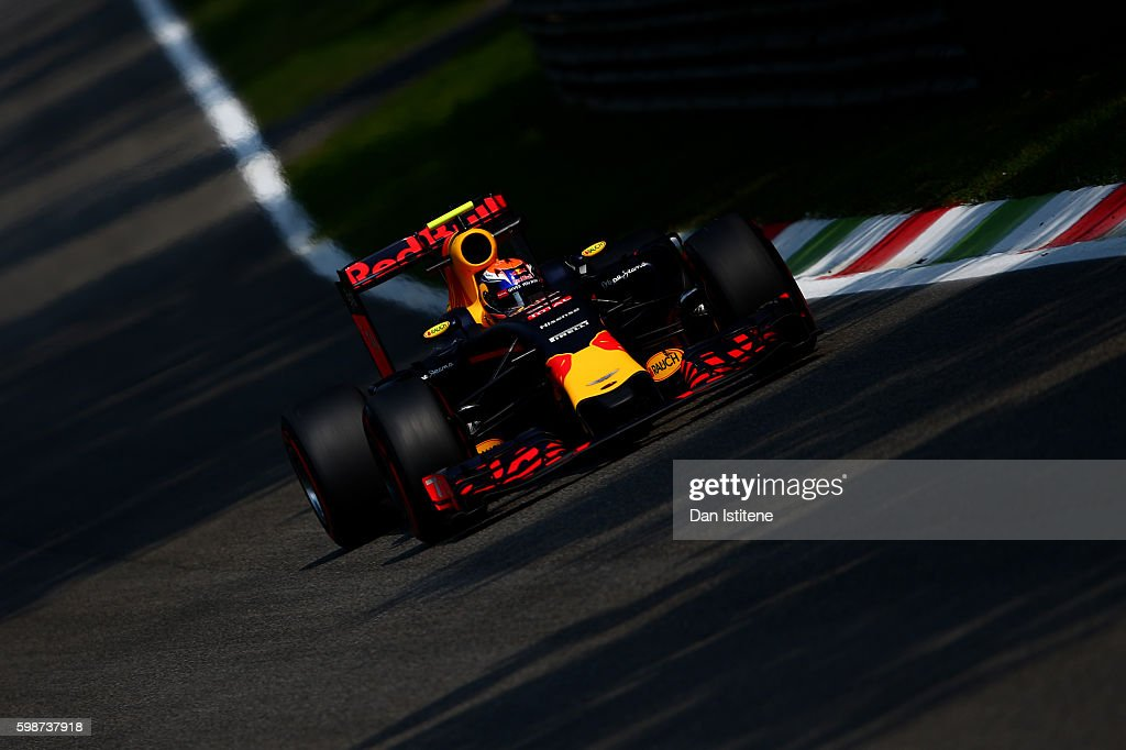 F1 Grand Prix of Italy - Practice : News Photo