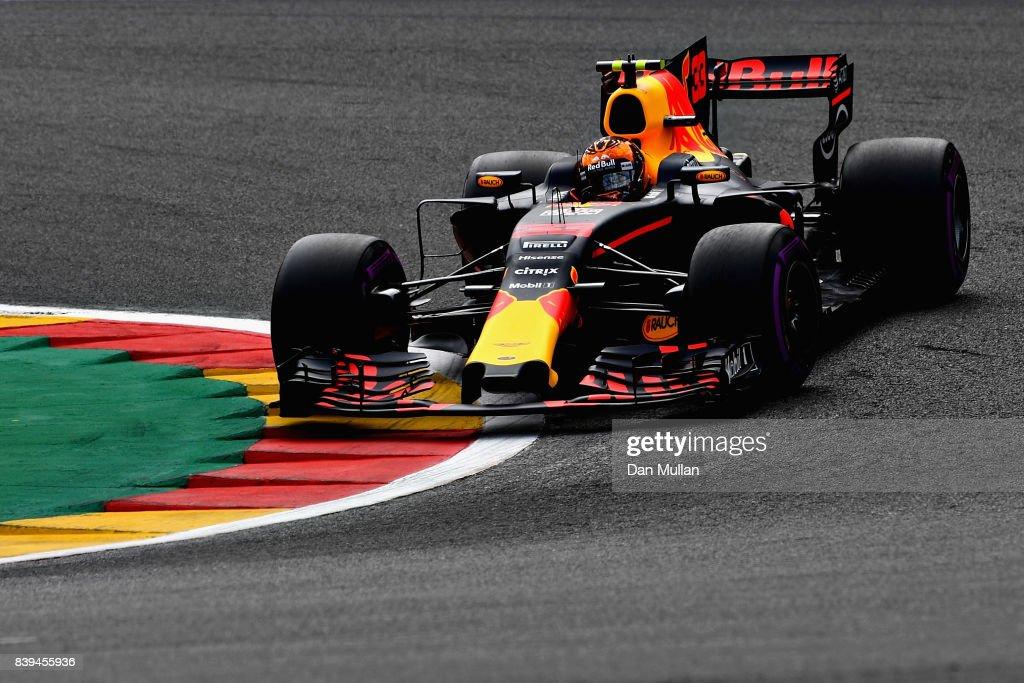 F1 Grand Prix of Belgium - Qualifying : News Photo