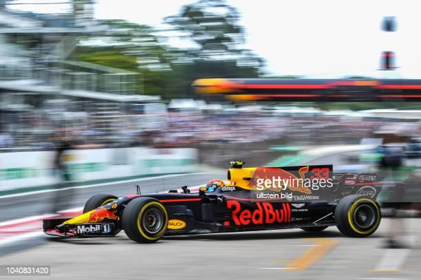 Max Verstappen Red Bull Racing formula 1 GP Brasilien in Sao Paulo/Interlagos