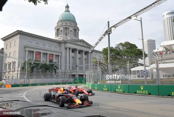 Max Verstappen Red Bull Racing Kimi Raiikkoenen Scuderia Ferrari formula 1 GP Singapore
