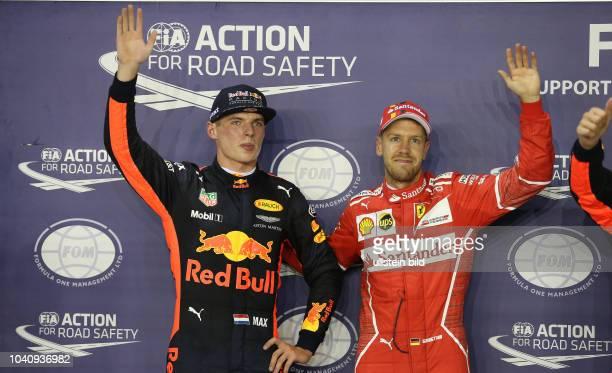 Max Verstappen Red Bull Racing Sebastian Vettel Scuderia Ferrari formula 1 GP Singapore