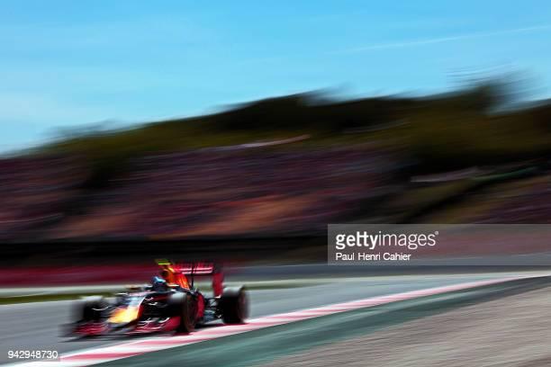Max Verstappen Red Bull RacingTAG Heuer RB12 Grand Prix of Spain Circuit de BarcelonaCatalunya 15 May 2016 Max Verstappen on the way to his first...