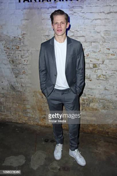 Max von der Groeben attends the Pantaflix Pantaparty during 69th Berlinale International Film Festival at Alte Muenze on February 11 2019 in Berlin...