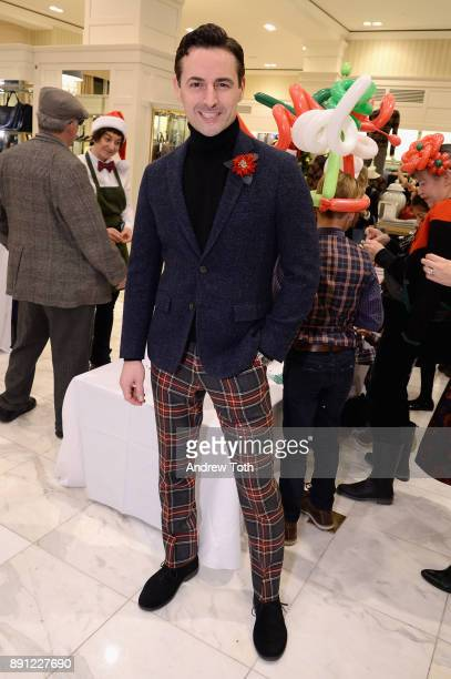 Max von Essen attends as Brooks Brothers celebrates the holidays with St Jude Children's Research Hospital on December 12 2017 in New York City