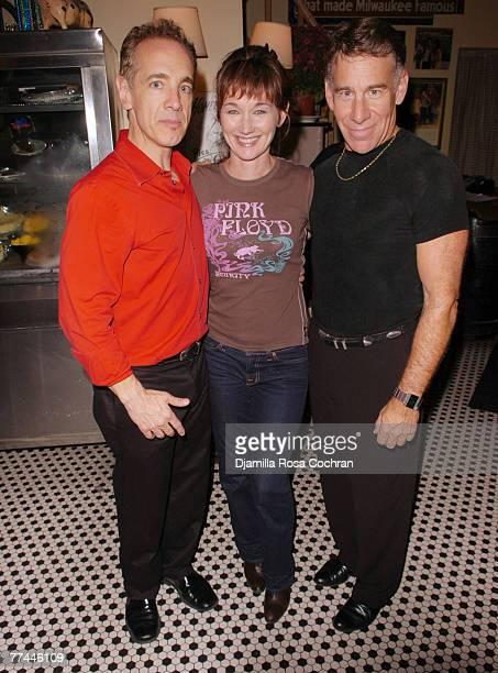 Max von Essen Lari White and Stephen Schwartz attend the 3rd annual Broadway Cabaret Festival honoring Stephen Schwartz October 19 2007 at the Town...