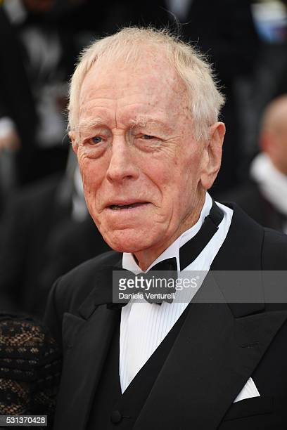 Max Von Sydow attends The BFG premiere during the 69th annual Cannes Film Festival at the Palais des Festivals on May 14 2016 in Cannes France