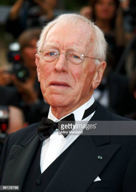 Max von Sydow attends the Opening Night Premiere of 'Robin Hood' at the Palais des Festivals during the 63rd Annual International Cannes Film...