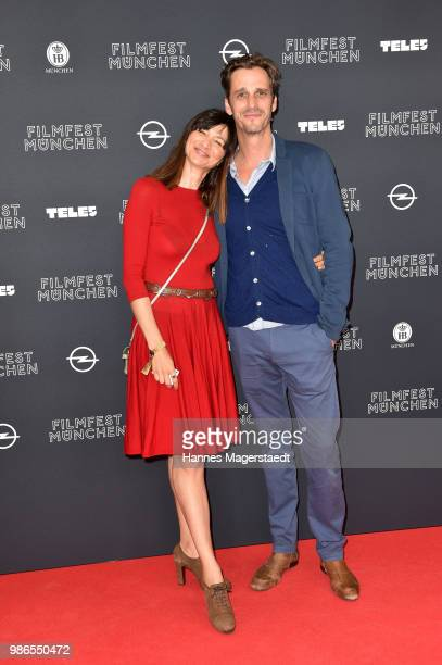 Max von Thun and guest during the opening night of the Munich Film Festival 2018 at Mathaeser Filmpalast on June 28 2018 in Munich Germany