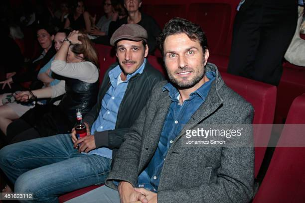 Max von Thun and Simon Verhoeven attend the 'Let's Go' premiere as part of Filmfest Muenchen 2014 at Rio Filmpalast on July 2 2014 in Munich Germany