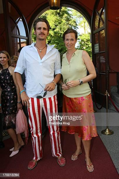 Max Von Thun and sister Gioia Von Thun When receiving Bavaria The Munich Film Festival in Park Bavaria Film in Munich