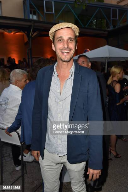 Max von Thun at the Event Movie meets Media during the Munich Film Festival on June 30 2018 in Munich Germany