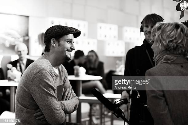 Max von Thun attends 'BMW Golden Bear Lounge' at the 63rd Berlinale International Film Festival on February 9 2013 in Berlin Germany