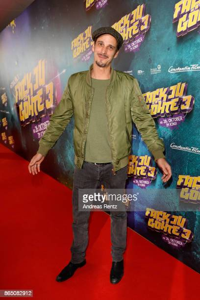 Max von Thun attends the 'Fack ju Goehte 3' premiere at Mathaeser Filmpalast on October 22 2017 in Munich Germany