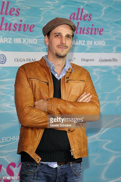 Max von Thun attends the German premiere of the film 'Alles Inklusive' at Mathaeser Filmpalast on February 24 2014 in Munich Germany