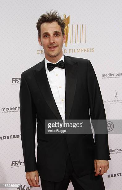 Max von Thun attends the Lola German Film Award 2013 at Friedrichstadtpalast at FriedrichstadtPalast on April 26 2013 in Berlin Germany