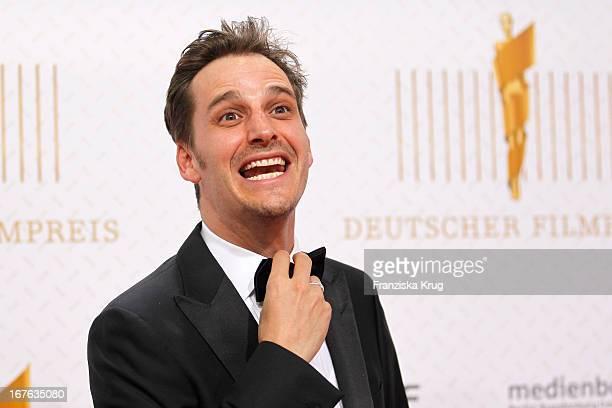 Max von Thun attends the Lola German Film Award 2013 at FriedrichstadtPalast on April 26 2013 in Berlin Germany