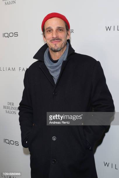 Max von Thun attends the William Fan Defile during 'Der Berliner Salon' Autumn/Winter 2019 at Knutschfleck on January 15 2019 in Berlin Germany