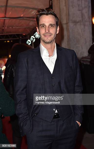 Max von Thun during the Bavarian Film Award 2016 show at Prinzregententheater on January 15 2016 in Munich Germany