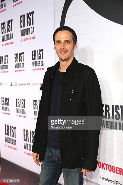 Max von Thun during the special screening of the film 'Er ist wieder da' at Mathaeser Filmpalast on October 7 2015 in Munich Germany