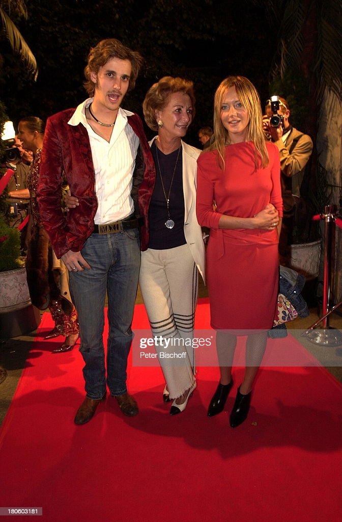Max von Thun, Mutter Yella von Thun, Doreen Dietel , nach der Pr ...
