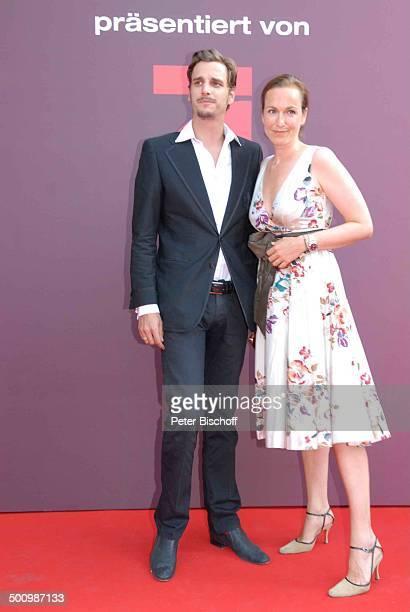 """Max von Thun, Schwester Katharina Gioia, Verleihung, Gala Bayerischer Fernsehpreis 2007, Preis: """"Der Blaue Panther"""", Prinzregententheater, München,..."""
