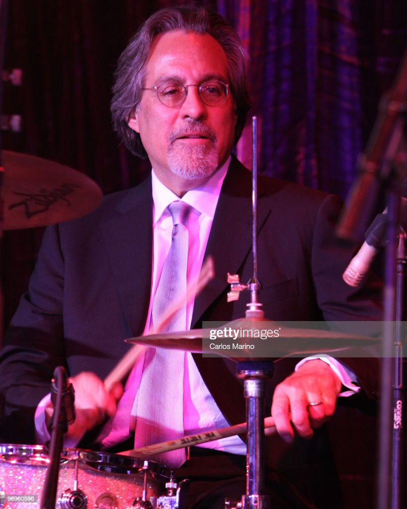 Max Weinberg attends Clarence Clemons Classic Benefitting Homesafe at Seminole Hard Rock Hotel on May 8, 2010 in Hollywood, Florida.