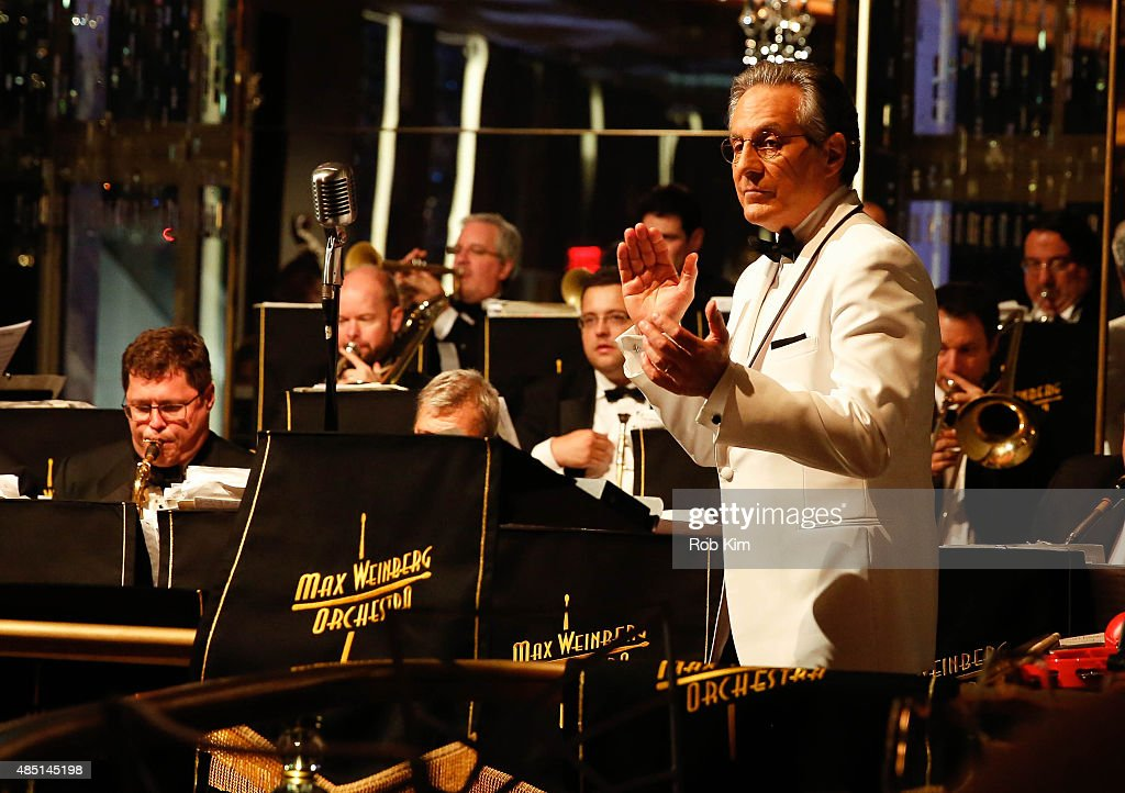 Max Weinberg performs during Mondays With Max: Max Weinberg's Rainbow Room Residency at The Rainbow Room on August 24, 2015 in New York City.