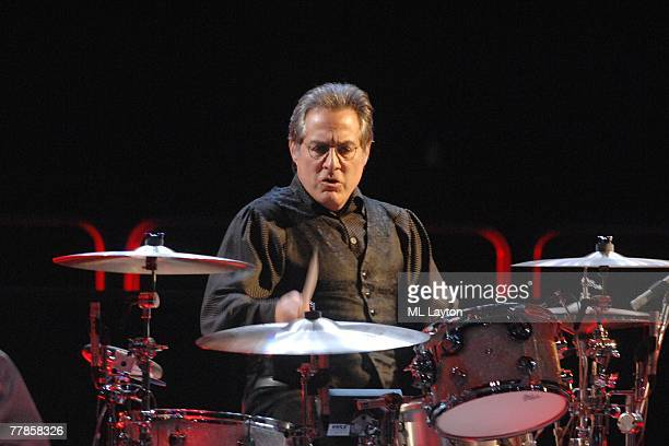 Max Weinberg performs with Bruce Springteen and and the E Street Band perform in concert on November 11 2007 at the Verizon Center in Washington DC