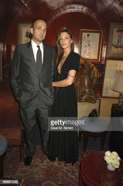 Max Wigram and Phoebe Philo attend Finch Partners' PreBAFTA Party hosted by the former CEO of Artists Independent Network Charles Finch on the eve of...