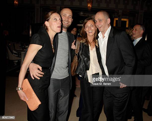 Max Wigram Phoebe Philo and Dinos Chapman attend the party to celebrate 15 years of Savile Row tailor Richard James hosted by the editor of GQ Dylan...
