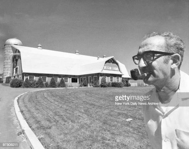 Max Yasgur whose land was used for Woodstock festival in Monticello NY I'm very happy to get back to running my dairy farm He doubts he'll ever rent...