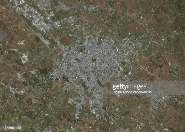 Maxar overview satellite imagery of Lecce Italy Please use Satellite image 2019 Maxar Technologies