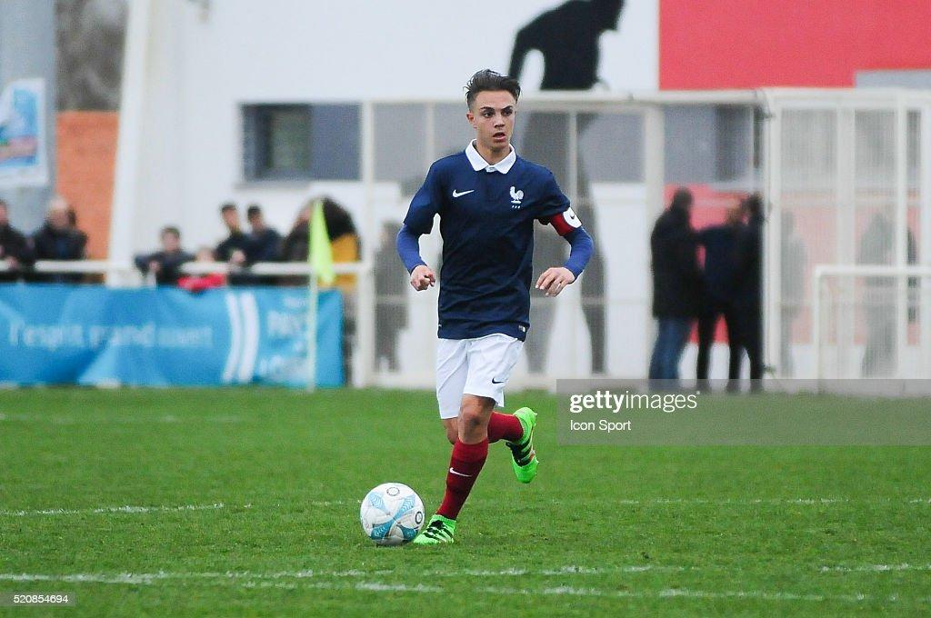 France v Marocco - U16 Mondial football Montaigu Photos and Images ...