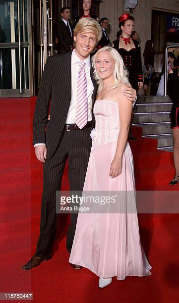 Maxi Arland and Andrea during Goldene Henne 2006 Arrivals and Ceremony at Friedrichstadt Palast in Berlin Berlin Germany