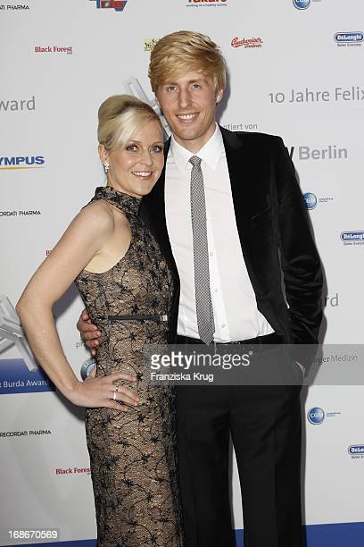 Maxi Arland And Wife Andrea 10th Anniversary Of The Felix Burda Award Hotel Adlon in Berlin