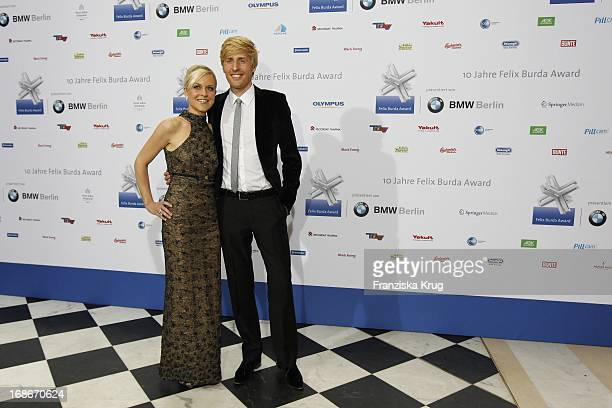 Maxi Arland And Wife Andrea 10th Anniversary Of The Felix Burda Award Hotel Adlon in Berlin
